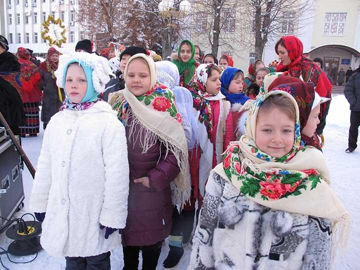 «Щедрий вечір, добрий вечір, мати Україно!» Театралізоване дійство на Європейській площі у Борисполі