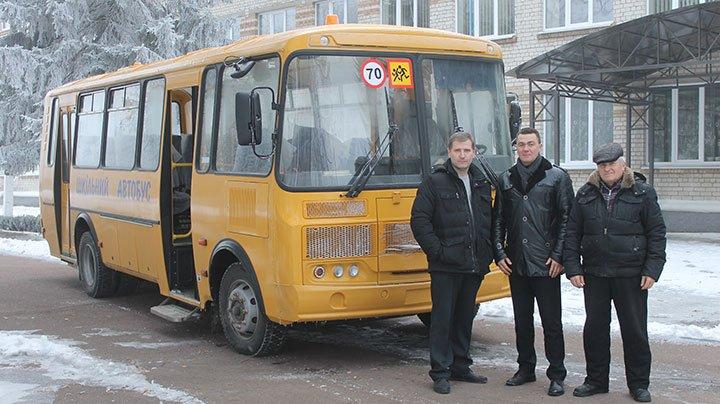 Вороньківській школі подарували новий автобус