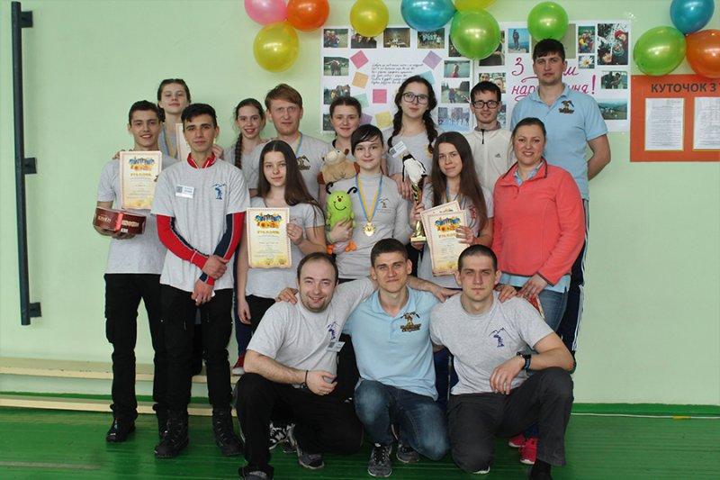 Бориспіль приймав спортсменів Київщини на обласних змаганнях з пішохідного туризму