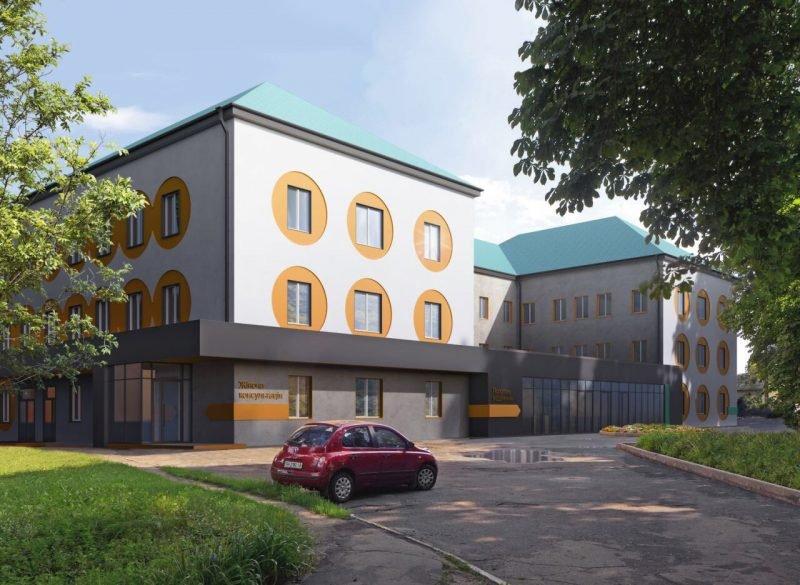 Візуалізація пологового відділення Бориспільської ЦРЛ після капітального ремонту