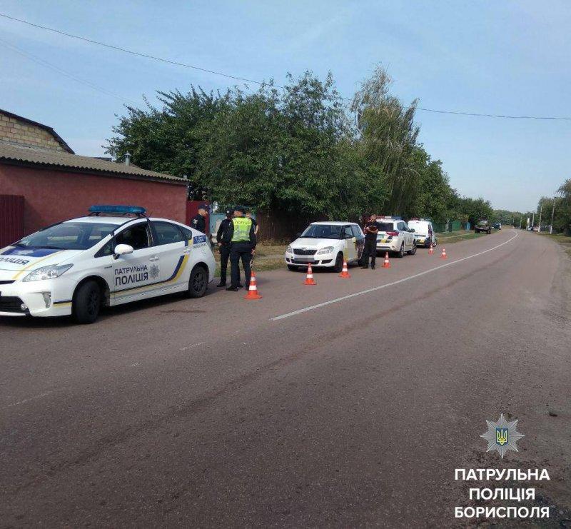 Патрульні Борисполя затримали викрадача автомобіля