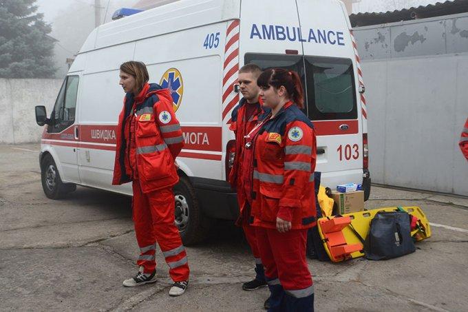 У Борисполі відбулися навчання з надання першої медичної допомоги (фото)