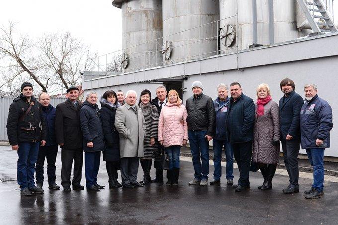 У Борисполі відкрили нову станцію знезалізнення (фото)