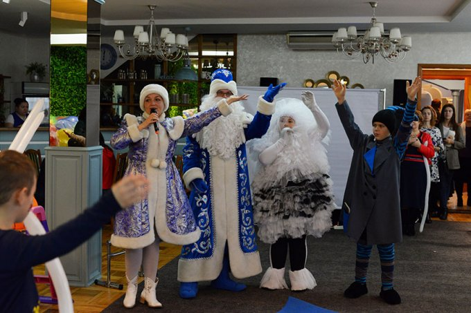 Володимир Шалімов подарував малечі округу №11 новорічне свято (відео, фото)