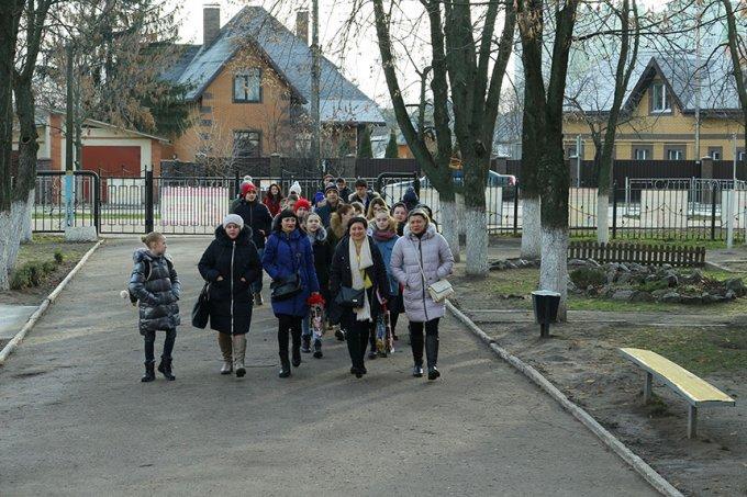Бориспільська школа №6 приймала дітей із Авдіївки (відео, фото)