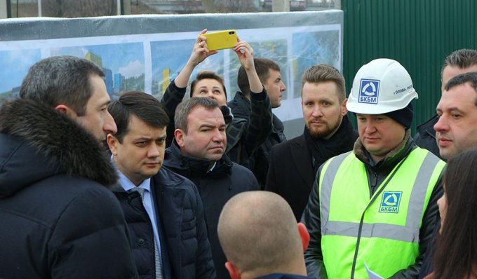 Будівництво нової школи у селі Гора оцінив Дмитро Разумков (фото)