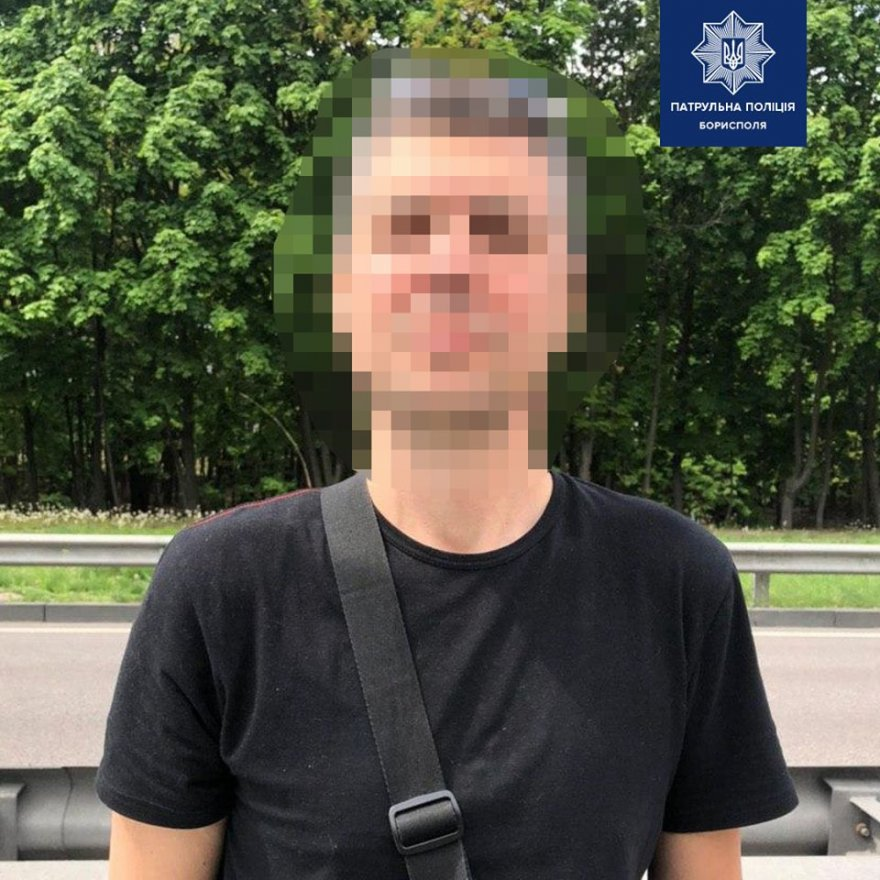 У Борисполі водій сів двічі п'яним за кермо лише за один місяць