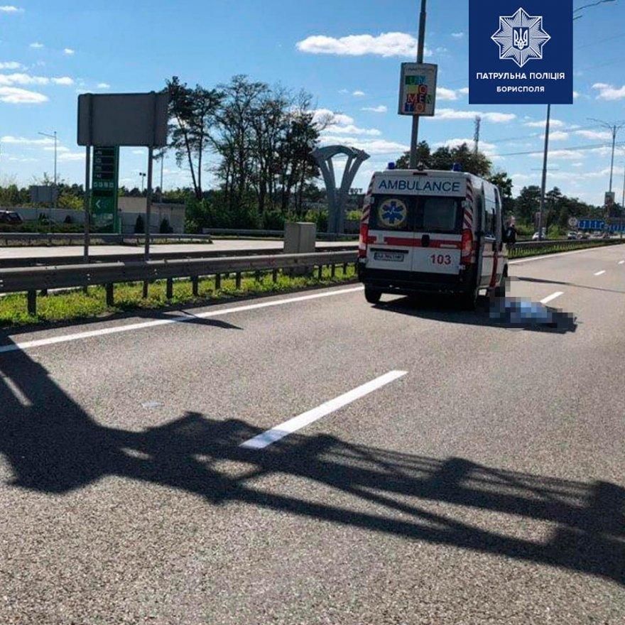 Під Борисполем жінка за кермом авто збила пішохода