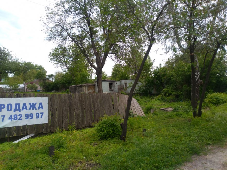 Нічийний смітник за 300 м від вулиці Київський Шлях