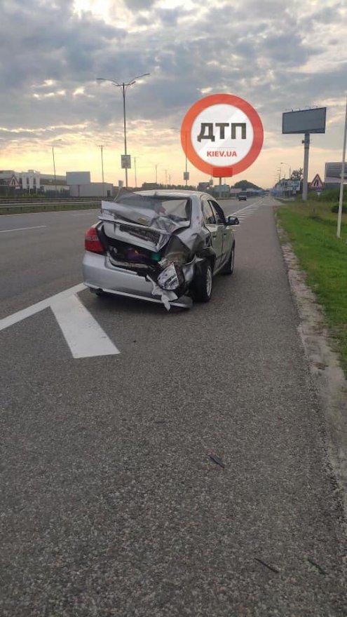 Під Борисполем загинув водій мікроавтобуса