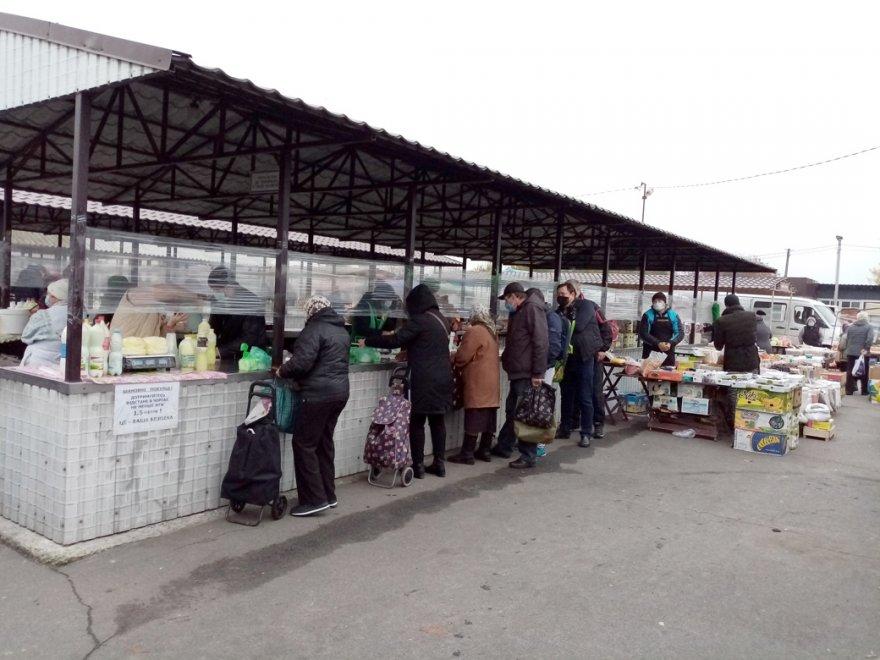Про роботу недільного ринку на вул. Луговій