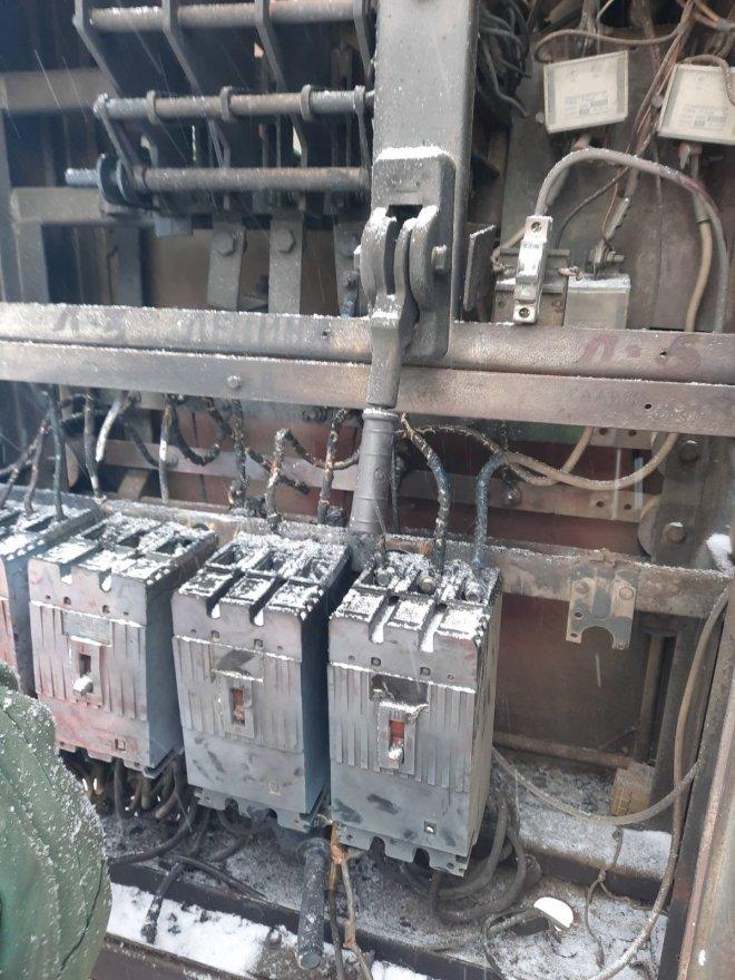Аварія на трансформаторній підстанції у Лебедині