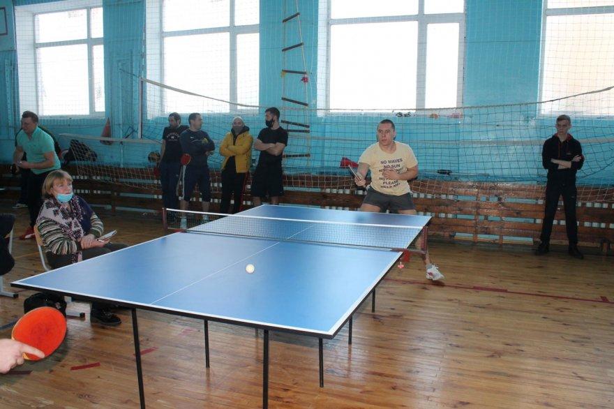 У Сеньківці відбувся відкритий чемпіонат з настільного тенісу