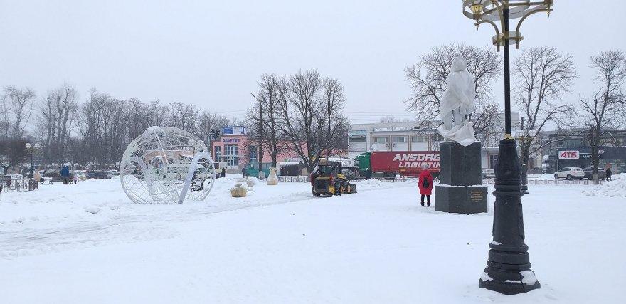 Випробування снігом триває