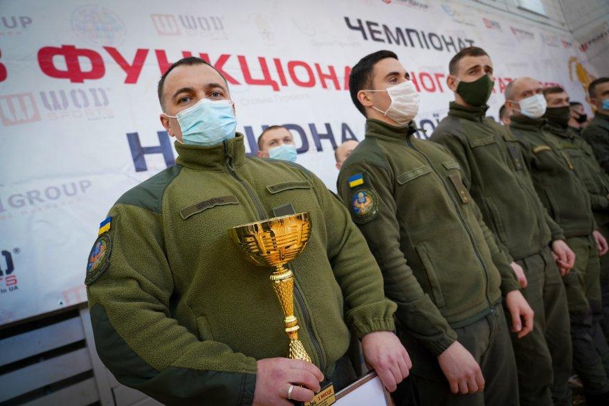 Спортивна команда Міжнародного центру #Нацгвардії отримала впевнену перемогу на чемпіонаті «Military Crossfit»