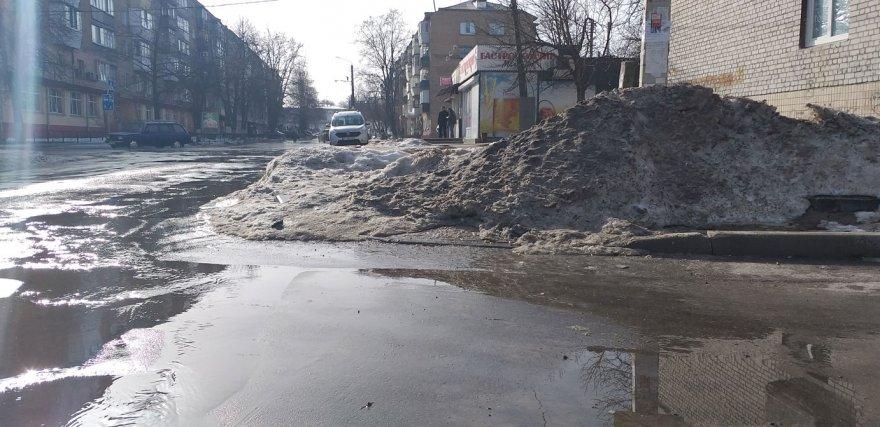 Випробування весняною водою для пішоходів і не тільки