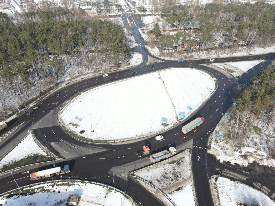 Дивіться, який вигляд має відремонтована траса між Києвом і Борисполем