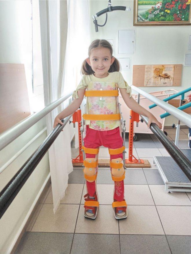 Аріна Бібікова:  «Мрію ходити ніжками»