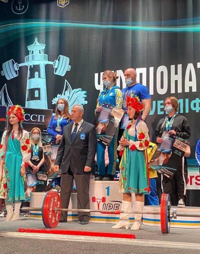 Бориспілька – чемпіонка України з паверліфтингу