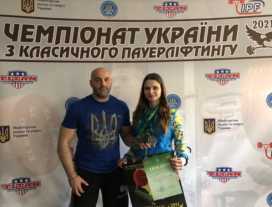 Бориспільські пауерліфтери продовжують перемагати у всеукраїнських змаганнях