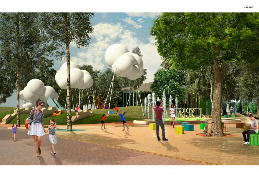 Новий парк — мінімум втручань, максимум функціональності та комфорту