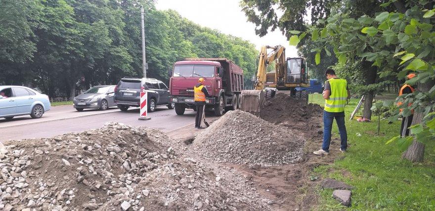 Бориспіль в епіцентрі ремонту доріг