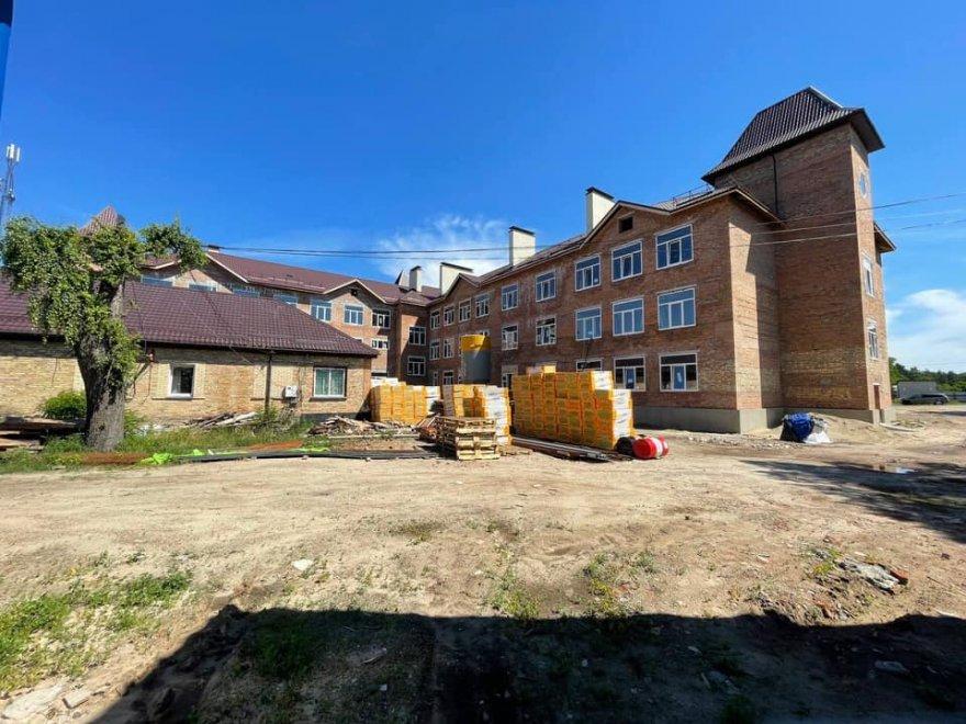 Триває реконструкція школи в Процеві за програмою «Велике будівництво»