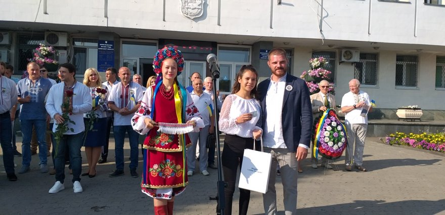 День Державного Прапора у Борисполі