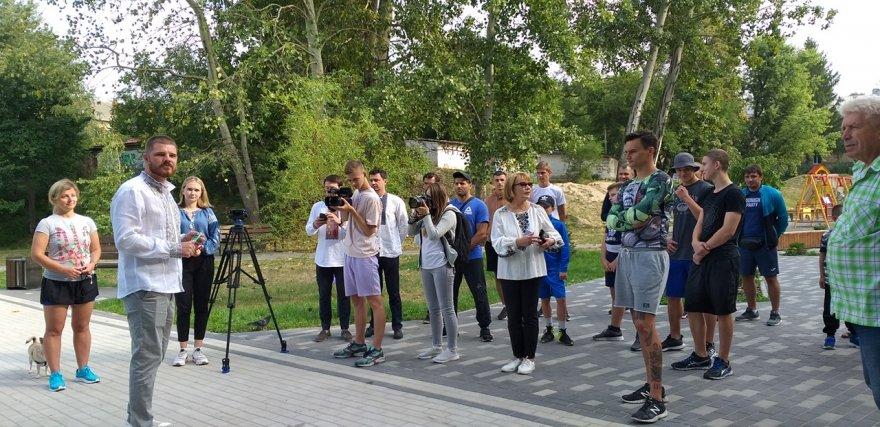 Парк на Соцмістечку поповнився спортивною зоною
