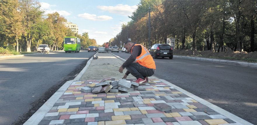 Ремонт Київського Шляху: картинки з натури