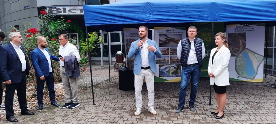 Партія «Слуга народу» відкрила свій офіс в Борисполі